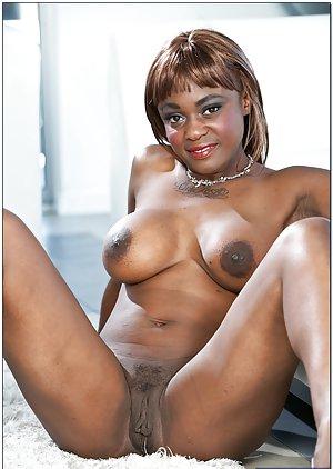 Ebony Shaved Pussy